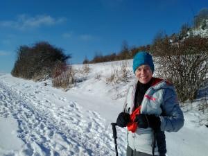2017-01-06 12-36-16 SALMENDINGEN KORNBÜHL Schneeschuhwandern