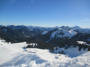 LENGGRIES Schneeschuhwandern